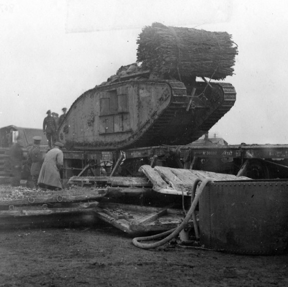 Tanks at Cambrai