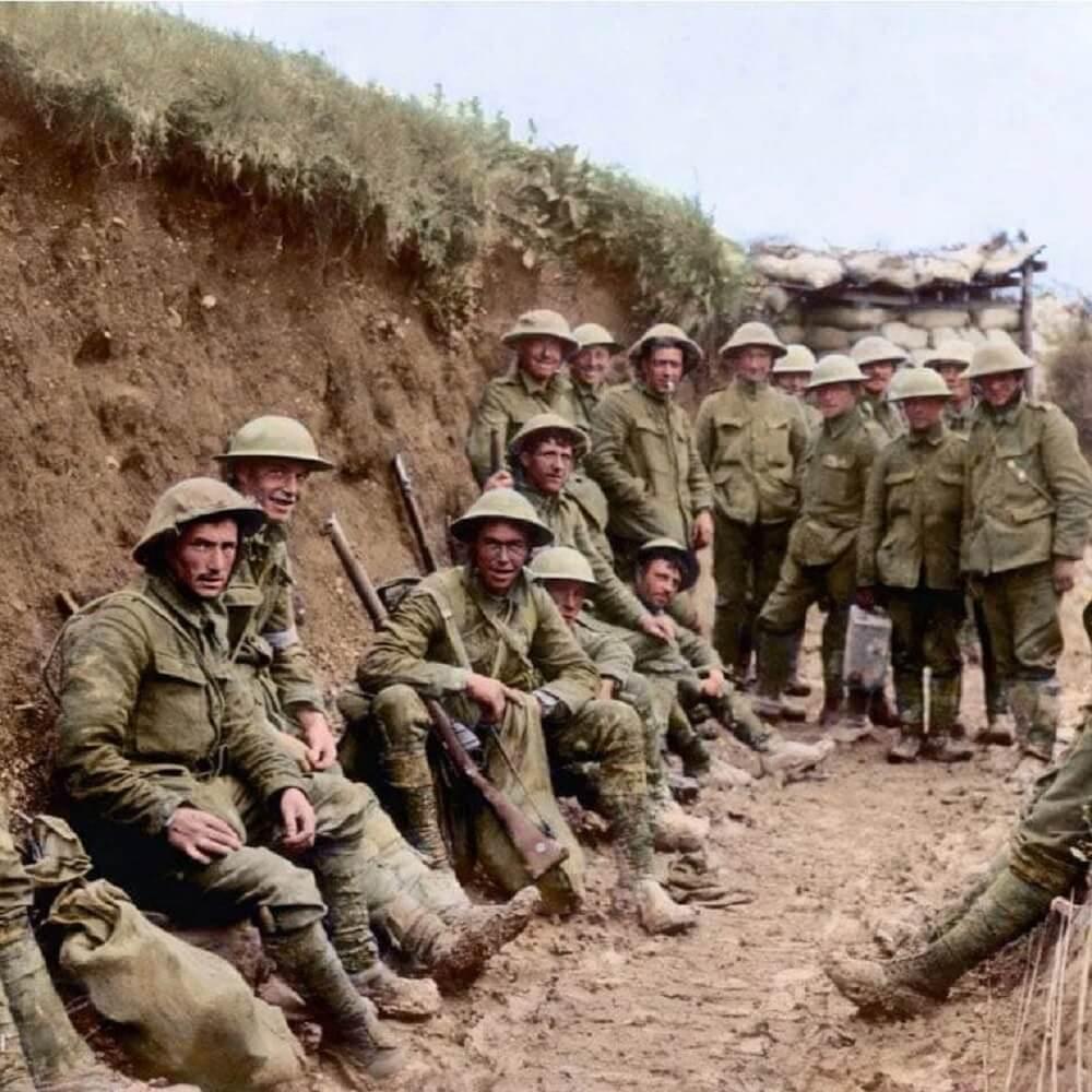 Irish Troops in the Great War
