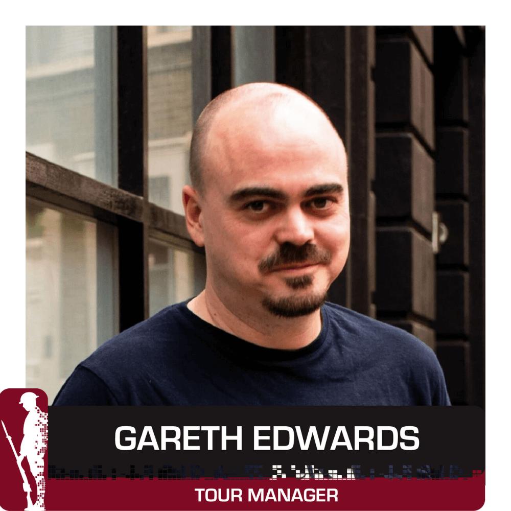Team image Gareth Edwards